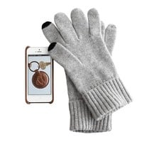 Men's Touch Screen Cashmere Gloves | Mark and Graham