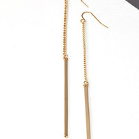 Matchstick Duster Earrings