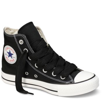 "Black High Top 54"" Shoelaces : Converse Shoe Laces 
