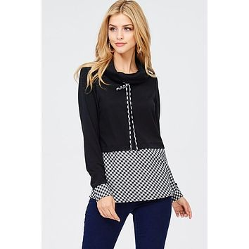 Check-Mate Top (Black)