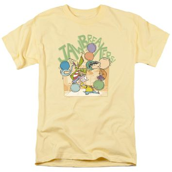 Ed Edd N Eddy - Jawbreakers Short Sleeve Adult 18/1 Shirt Officially Licensed T-Shirt