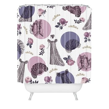 Belle13 The Princess Shower Curtain