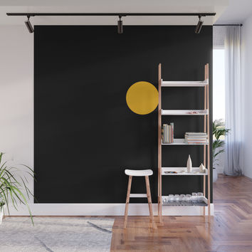 yellow point Wall Mural by netzauge
