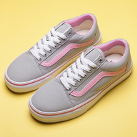 Trendsetter VANS Old Skool Canvas Flats Sneakers Sport Shoes
