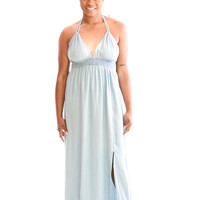 Sunrise Denim Maxi