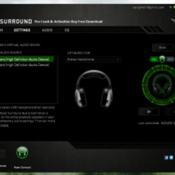 Razer Surround Pro Crack & Activation Key Free Download - Pc Soft Incl Crack keygen Patch