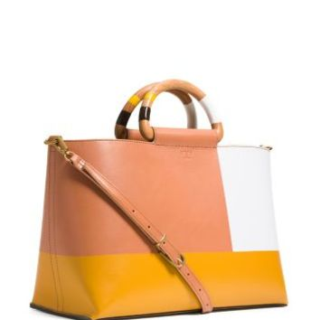 Tory Burch Color-block Tote
