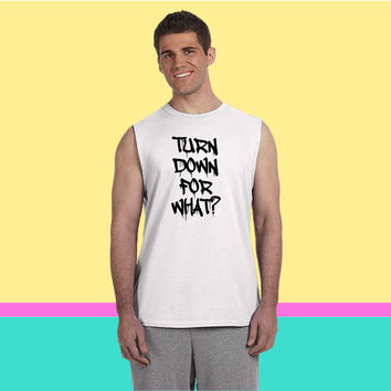 Turn Down For What 2 Sleeveless T-shirt