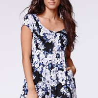MinkPink Moonlit Fountain Playsuit - Womens Dress - Multi