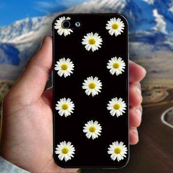 Little Daisy - Print on hard plastic case for iPhone case. Select an option
