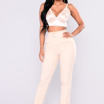 Mytrice Trouser Pants - Beige
