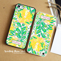 Almacen Yellow Flower - Lilly Pulitzer iPhone Case Cover for iPhone 6 6 Plus 5s 5 5c 4s 4 Case