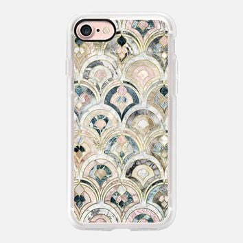 Art Deco Marble Tiles in Soft Pastels 2 iPhone 7 Case by Micklyn Le Feuvre | Casetify