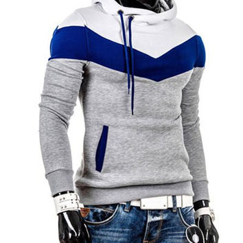 Drawstring Hooded Multi Color Side Pocket Hoodies