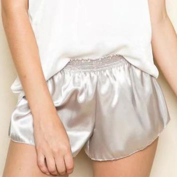 Starla Gets Satisfaction Satin Shorts