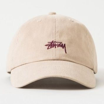 Stussy Women Men Embroidery Sport Baseball Cap Hat Sunhat