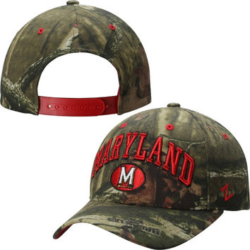 Maryland Terrapins Zephyr Mossy Oak Sport Adjustable Hat – Camo