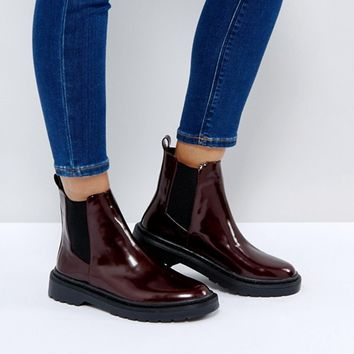 Pimkie Chunky Sole Chelsea Boots at asos.com