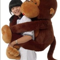 "Giant 51"" Gorilla/Monkey Stuffed Plush Toy from Joyfay"