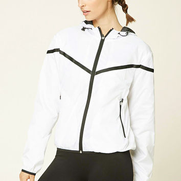 Active Mesh Hooded Windbreaker