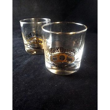 Jack Daniels Tennessee  Old No 7 Glasses
