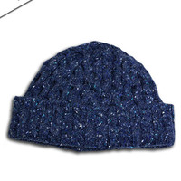 Luxury Aran Honeycomb Hat