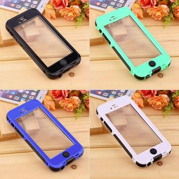 DKF4S Waterproof Shockproof Dirt Proof Protection Case Cover For iPhone 6 4.7''