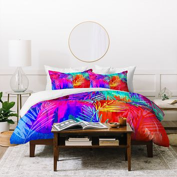 Holly Sharpe Tropical Heat 01 Duvet Cover