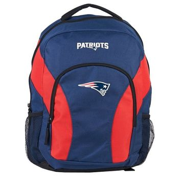 New England Patriots Fans Backpack NFL Fan Draft Day Super Bowl Fan Football Bag