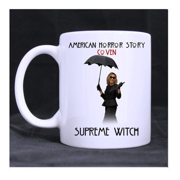 American Horror Story Coven Fiona Goode Supreme Witch 11oz ceramic mug