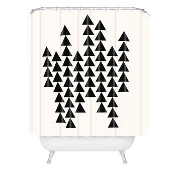 Holli Zollinger Arrowing Shower Curtain