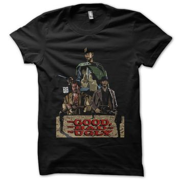 Good The Bad And The Ugly Version Custom Men's Gildan Adult T-Shirt
