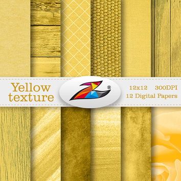 Labor Day Sale Yellow wood digital paper yellow texture Decoupage Paper Scrapbook Paper digital background commercial use Printable Paper