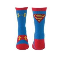 Under Armour Kids' Under Armour Alter Ego Superman Crew Socks