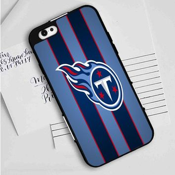 logo of tennessee titans iPhone Case