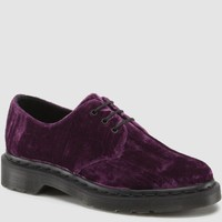 1461 WOMENS PURPLE CRUSHED VELVET