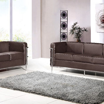 U-BEST Le Corbusier LC2 sofa set,LC2 2 seater +3 seater sofa set,designer furniture,living room sofa,2+3 seater sectional sofa