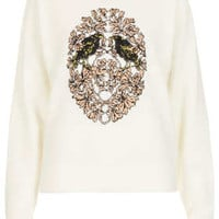 BIRD CREST ANGORA JUMPER BY BOUTIQUE