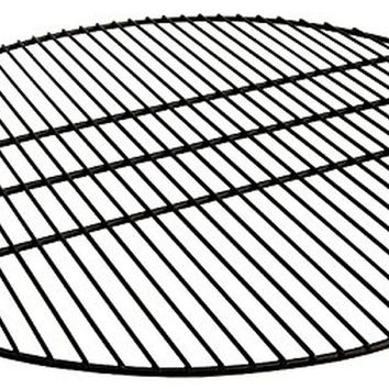 Sunnydaze Black Fire Pit Cooking Grate for Grilling 30 Inch Diameter