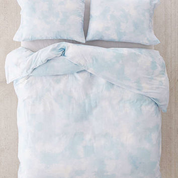 Subtle Tie-Dye Duvet Cover - Urban Outfitters