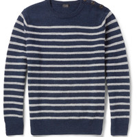 J.Crew Striped Merino Wool Sweater | MR PORTER