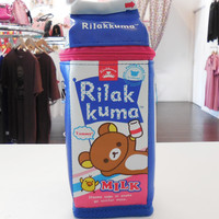 JapanLA - Rilakkuma Milk Carton Pencil Case