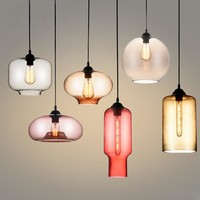 Glass Pendant Ceiling Light