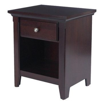 Threshold™ Avington Side Table - Dark Tobacco
