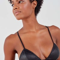 Out From Under Leather Up Bralette | Urban Outfitters