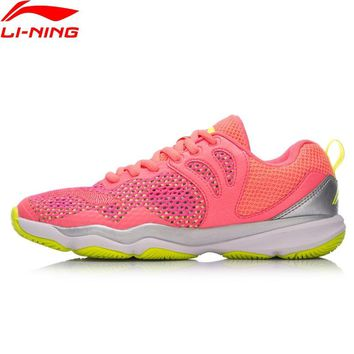 Li-Ning Women RANGER II LITE-TD Professional Badminton Shoes Wearable Anti-Slippery LiNing Sports Shoes Sneakers AYTN034