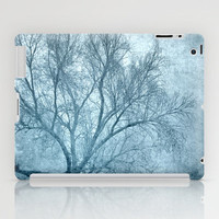 Blue tree iPad Case by Guido Montañés