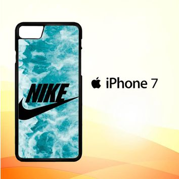 Nike marble blue Z4875 iPhone 7 Case
