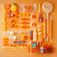 ORANGE the sugar series by sugartowne on Etsy