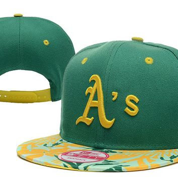 Oakland Athletics New Era 9FIFTY MLB Baseball Cap Green